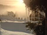 Pozemky Čenkovice - zimní nádhera