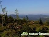 Pozemky Čenkovice - pohled do údolí