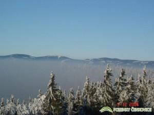 Pozemky Čenkovice - pohled na Králický Snežník