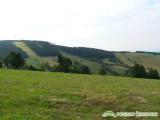 Pozemky Čenkovice pohled na pozemky