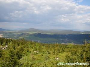Pozemky Čenkovice pohled do údolí