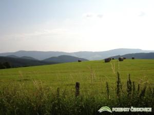 Pozemky Čenkovice pohled na Bukovou horu