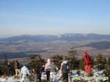 Pozemky Čenkovice - pohled na Králický Sněžník